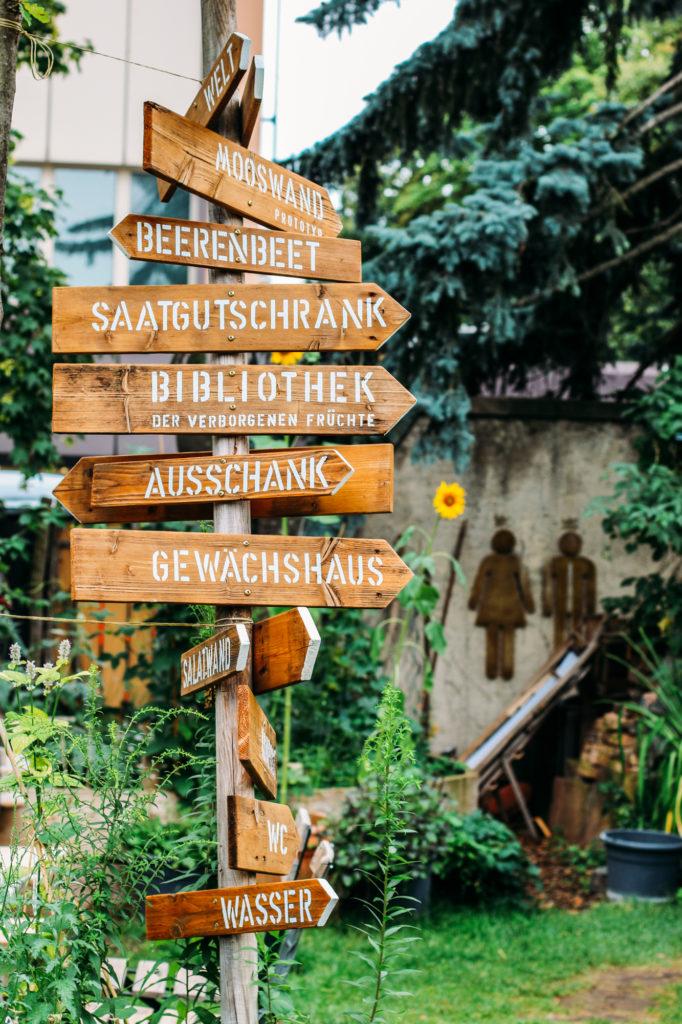 Essbare Klause Biergarten Darmstadt