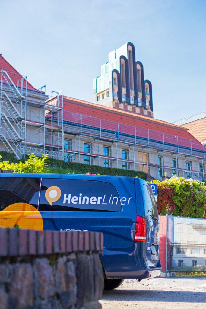 HeinerLiner Darmstadt auf der Mathildenhöhe